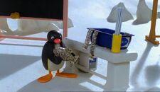 PinguandthePaperMache