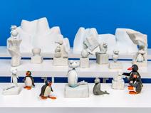 Ice Sculpture Display