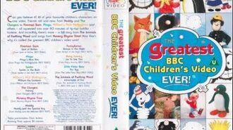 The Greatest BBC Children's Video Ever! (1995 UK VHS) (EDIT)