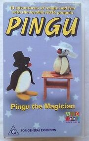 Pingu-The-Magician-10-Adventures-VHS-Video-Tape