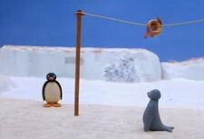 Pingu and Robbie and Fish