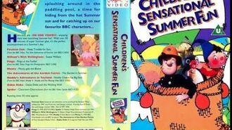 BBC Children's Sensational Summer Fun (1996 UK VHS)