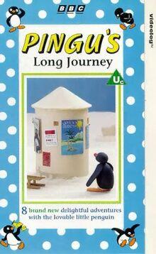 Pingu's Long Journey VHS
