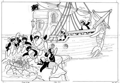 PINGU 5 96 Pirates Story