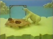 The polar bear before the hugo short