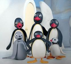 Pingu Main characters