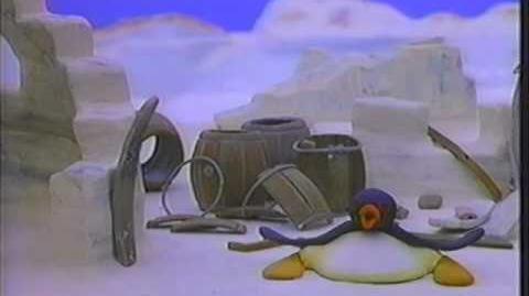 ウォークマンのペンギンのCM