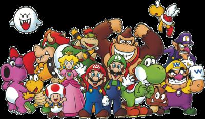 Club Nintendo Cast