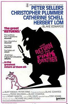 220px-The Return of the Pink Panther poster
