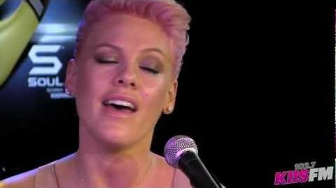 "P!nk - ""Perfect"" (Live, Acoustic)"