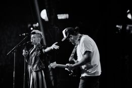 P!nk and James Gillespie