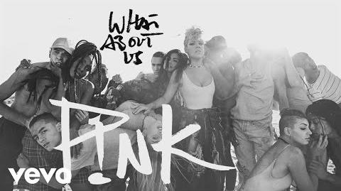P!nk - What About Us (Lyric Video)