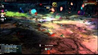 GW2 Brangoire vs Elementalist (Twilight Arbor 2nd Boss)