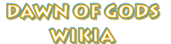 Dawn of Gods wiki logo wordmark