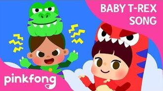 If I Were a T-Rex - Baby T-Rex Songs - Dinosaur Songs - Pinkfong Songs for Children