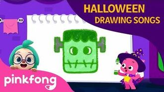The Frankenstein - Halloween Drawing Songs - Pinkfong Songs for Children