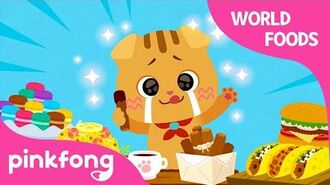 Yum Yum World Foods - The World Song - Cotomo Cats - Pinkfong Songs for Children