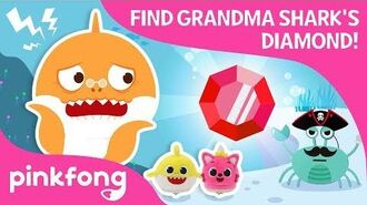 Finding Grandma Shark's Diamond - Baby Shark Toy - Pinkfong Songs for Children