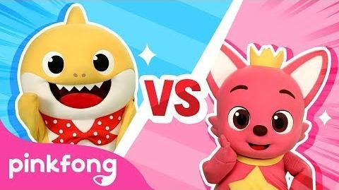 Baby Shark vs Pinkfong | PINKFONG Wiki | Fandom