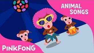 Cheeky Monkey - Monkey - Animal Songs - Pinkfong Songs for Children