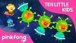 Ten Little Alien Kids - Ten Little Kids Songs - Pinkfong Songs for Children