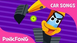 I Am Excavator - Car Songs - PINKFONG Songs for Children