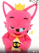 Pinkfong slepping