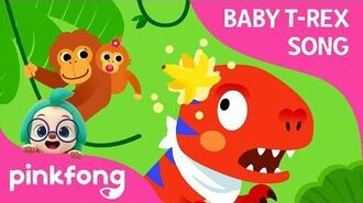 A T-Rex Went to Jungle - Baby T-Rex Songs - Dinosaur Songs - Pinkfong Songs for Children