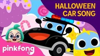 Police Car and Halloween Candy - Halloween Songs - Baby Car - Pinkfong Songs for Children