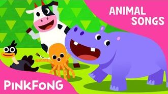Animal Action - Animal Songs - PINKFONG Songs for Children