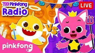 Angel Baby Shark vs Devil Pinkfong - 733 Pinkfong Baby Shark Radio - Pinkfong Show for Children