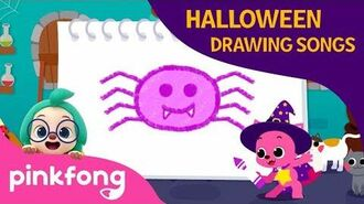 A Baby Spider - Halloween Drawing Songs - Pinkfong Songs for Children