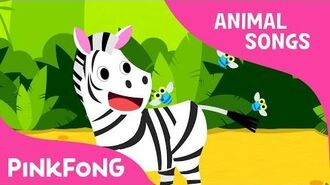 Zebra Cadabra - Zebra - Animal Songs - Pinkfong Songs for Children