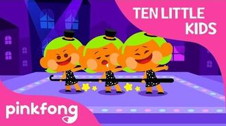 Ten Little Tap Dancing Kids - Ten Little Kids Songs - Pinkfong Songs for Children