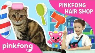 Pinkfong Hairshop Open! - Pinkfong Playfong - Hairshop Play - Pinkfong Show for Children