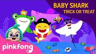 Baby Shark Trick or Treat - Baby Shark Halloween - Halloween Songs - Pinkfong Songs for Children