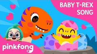 Fierce T-Rex Had Eggs - Baby T-Rex Songs - Dinosaur Songs - Pinkfong Songs for Children