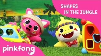 Shapes in the Jungle - Toy Show - Pinkfong Toy Review for Children