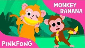 Monkey Banana - Animal Songs - PINKFONG Songs for Children