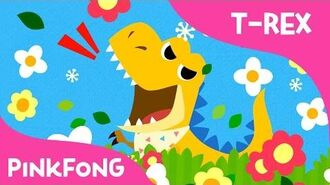 Baby T-Rex - Dinosaur Songs - Pinkfong Songs for Children