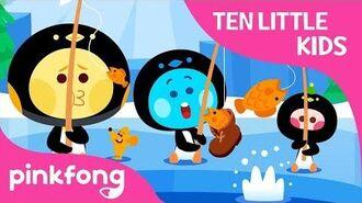 Ten Little Penguin Kids - Ten Little Kids Songs - Pinkfong Songs for Children