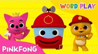 Hurry Hurry Drive the Fire Truck Word Play Pinkfong Songs for Children