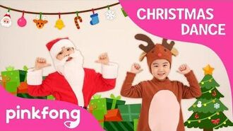 S-A-N-T-A - Christmas Dance - Dance Along - Pinkfong Songs for Children
