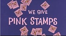We Give Pink Stamps Animation