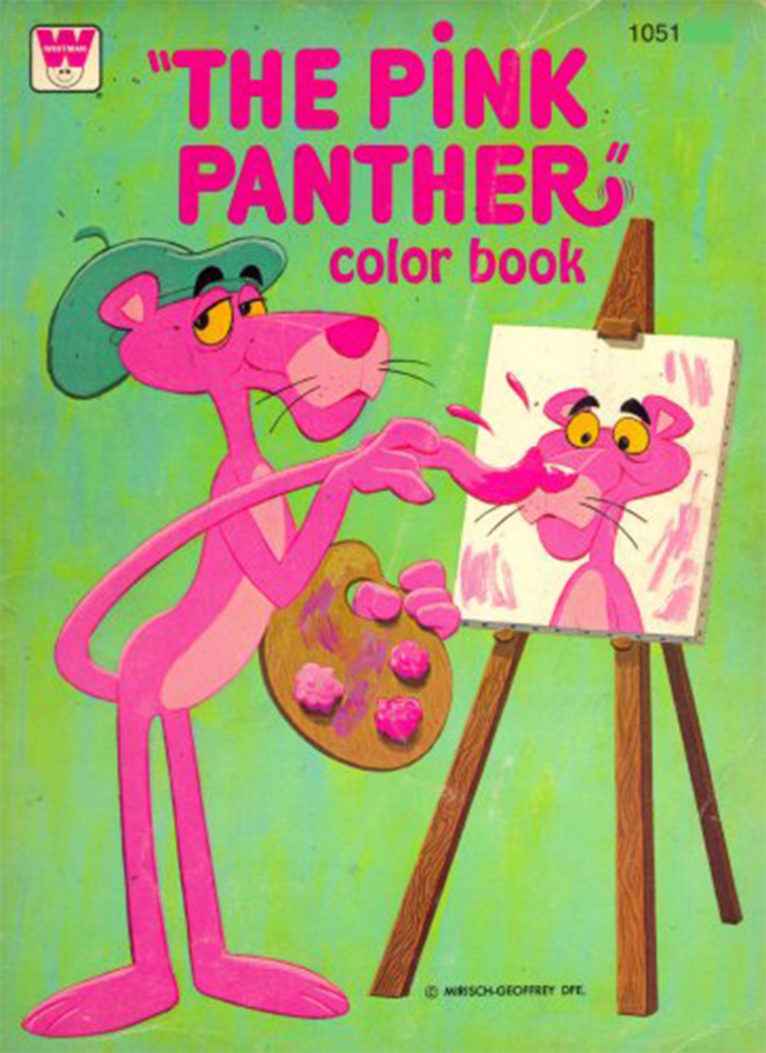 Whitman 1975 Color Book | The Pink Panther Wiki | FANDOM ...