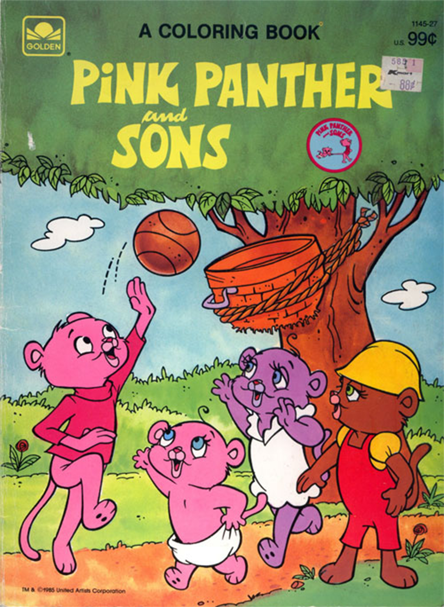 - Pink Panther And Sons - A Coloring Book The Pink Panther Wiki