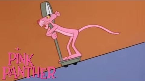 """The Pink Panther in """"An Ounce of Pink"""""""