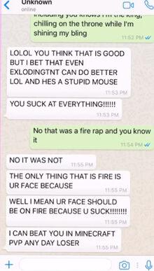 Wife's Phone talk Pink Sheep