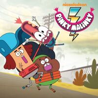 Pinky Malinky with Nickelodeon logo