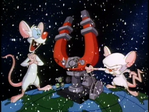 Image - A Pinky and the Brain Christmas opening.jpg | Pinky and ...